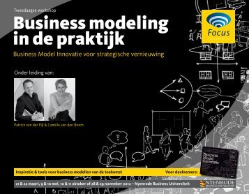 Business modeling in de praktijk - Focus Conferences
