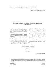 Bekendtgørelse nr. 677 af 16. juli 2003