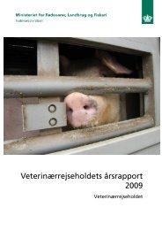 Veterinærrejseholdets årsrapport 2009 - Fødevarestyrelsen