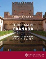 GRANADA - Fordham University