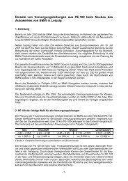 Einsatz von Versorgungsleitungen aus PE 100 beim ... - Frank GmbH