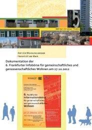 Infobörse 2012 (pdf, 3.5 MB) - Frankfurt am Main