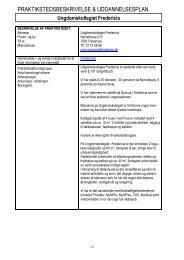 Uddannelsesplan for Ungdomskollegiet - Fredericia Kommune