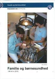 Familie og børnesundhed (pdf 859kb) - Fredericia Kommune