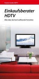 Einkaufsberater HDTV - Astra