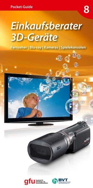 Einkaufsberater 3d-Geräte - Photoindustrie-Verband ev