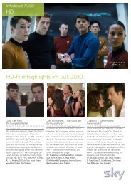 Hd-Filmhighlights im Juli 2010 - Astra
