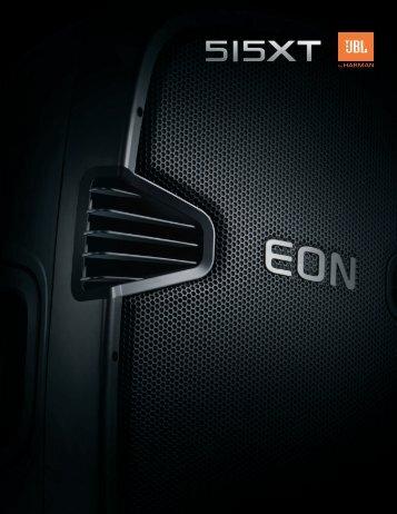 EON515XT Brochure - JBL Professional