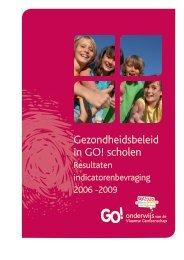 Resultaten indicatorenbevraging 2006-2009 - GO! onderwijs van de ...