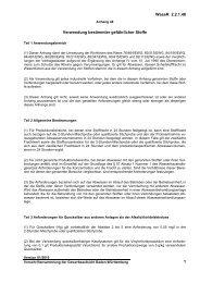 Verordnung über Anforderungen an das Einleiten - Gewerbeaufsicht ...