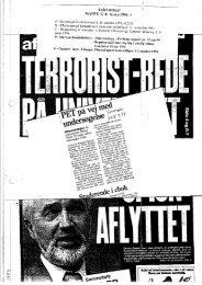 Presse, advokat, politi, anklagen oktober 1993 – april ... - Gaderummet