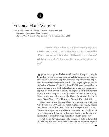 Yolanda Huet-Vaughn - Gale