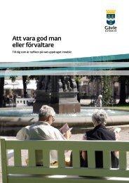 Att vara god man eller förvaltare - Gävle kommun