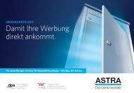 Mediadaten - ASTRA Direkt