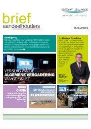 aandeelhouders - GDF Suez