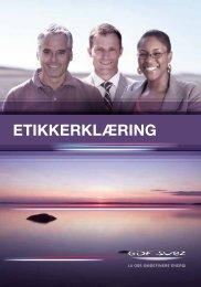 ETIKKERKLÆRING - GDF Suez