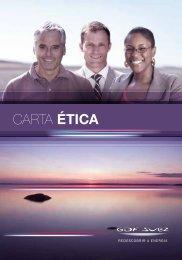 CARTA ÉTICA - GDF Suez