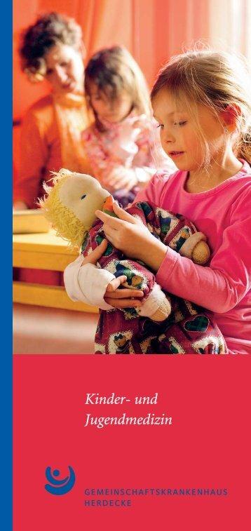 Kinder- und Jugendmedizin - Gemeinschaftskrankenhaus Herdecke