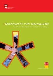 Gemeinsam für mehr Lebensqualität. Sozialplan der Stadt Bozen in ...