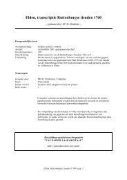Elden, transcriptie Ruttenburgse tienden 1760 - Geneaknowhow.net