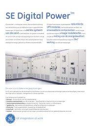SE Digital Power™ - G E Power Controls