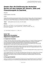 Gesetz über die Einführung des deutschen Rechts auf dem Gebiete ...
