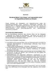 Merkblatt in der Kinder- und Jugendarbeit und im Angestellte an ...