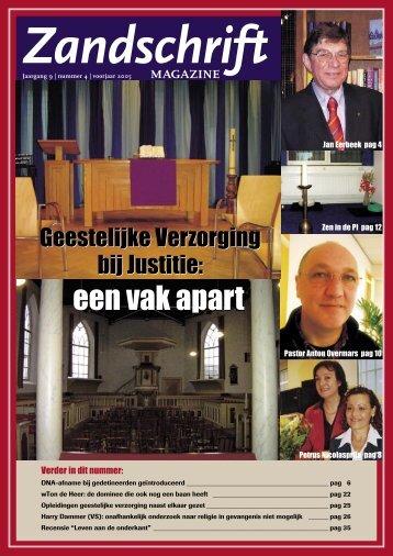 een vak apart - Gevangenispredikant.nl