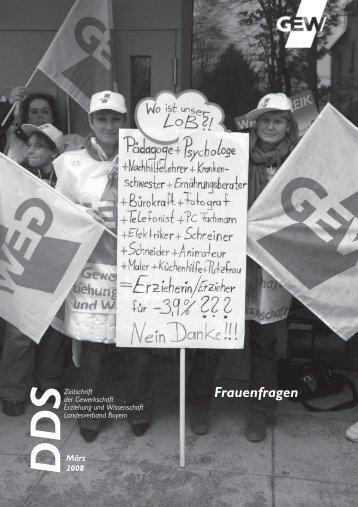 Frauenfragen - GEW Landesverband Bayern