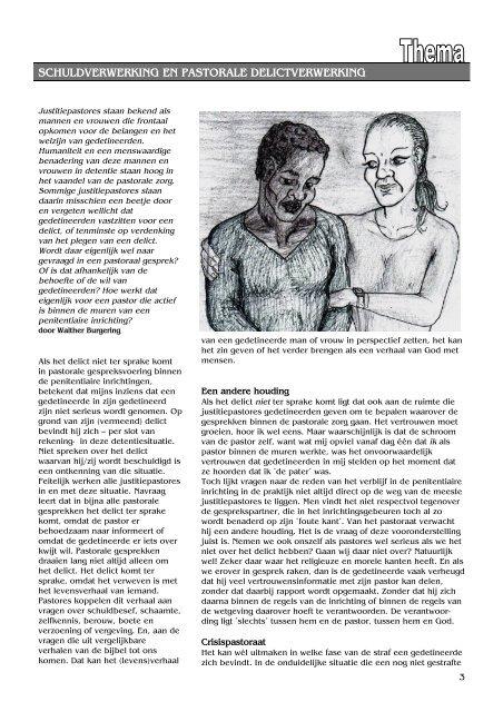 Dating voor gedetineerden