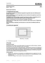 InfoTerminal Touch - Gira
