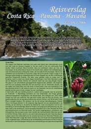 Reisverslag Costa Rica, Panama & Havana (december 2006)