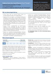 Authorisation Details and Publication Date - PLC - Goldman Sachs