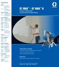 320580NL , ST MAX™ - ST MAX™ II
