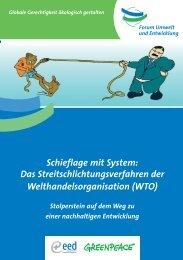 Das WTO - Greenpeace