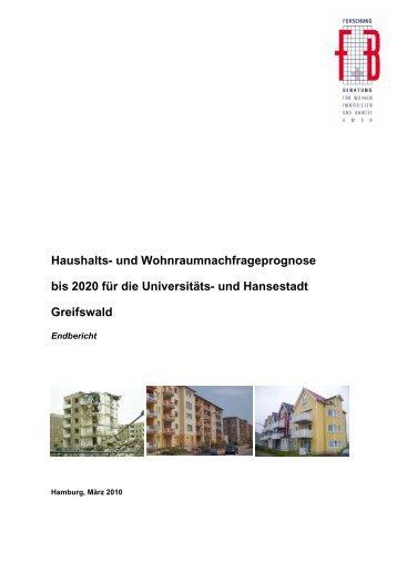 Haushalts - Hansestadt Greifswald