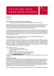 Persbericht 30 mei 2012 zondagmiddag 24 juni 2012, De Amshoff in ...