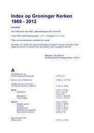 J - Stichting Oude Groninger Kerken