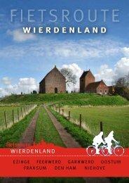 Nieuwe fietsroute Wierdenland - Stichting Oude Groninger Kerken