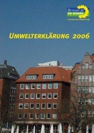 8. Umweltkennzahlen 2004 und 2005 - Bündnis 90/Die Grünen ...