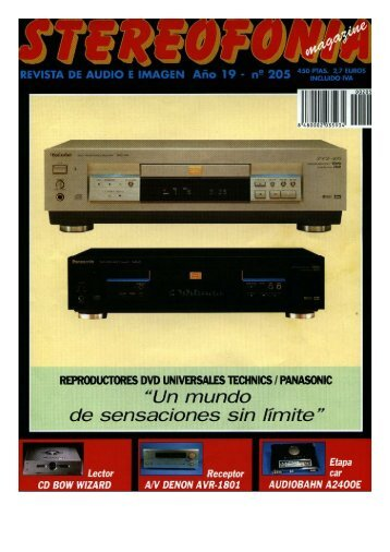 Page 1 REVISTA DE AUDIO E IMAGEN Añn 19 n2 205 mgâìmïfìäms ...
