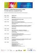 """2. Fachkonferenz der """"Bildungsberatung in Wien"""" Bildungs- und ... - Seite 2"""