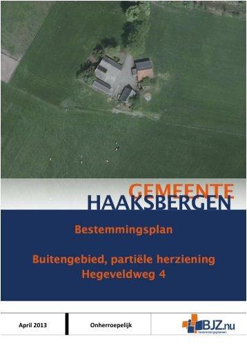 Toelichting - Gemeente Haaksbergen