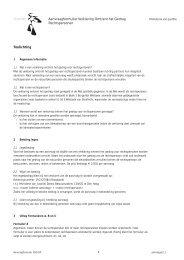 Aanvraagformulier Verklaring Omtrent het Gedrag Rechtspersonen