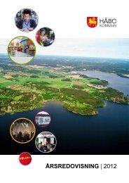 Årsredovisning | 2012 - Håbo kommun