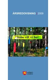 Årsredovisning | 2009 - Håbo kommun