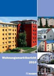 Wohnungsmarktbericht 2010 - Hagen