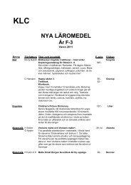 NYA LÄROMEDEL - Halmstad