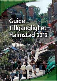 Guide Tillgänglighet Halmstad 2012