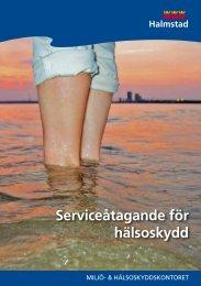 Serviceåtagande för hälsoskydd - Halmstad
